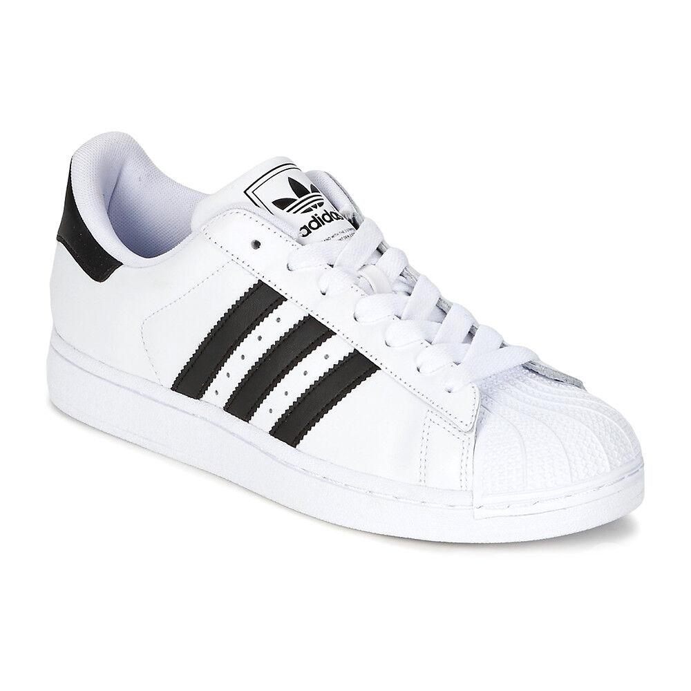 fe4340806 ... Adidas Superstar II g7 hombres zapatos negro / g0 g0 g0 Blanco Navy /  g8 Blanco ...