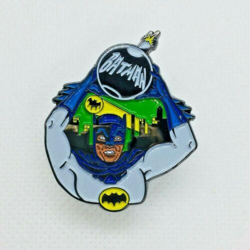 Batbomb Batman TV Show Metal Enamel Pin Badge