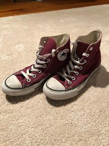 9ab2b63025c8 Image is loading Boys-Converse-High-Tops-Size-5
