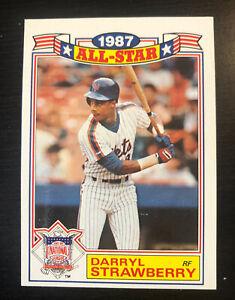 Darryl Strawberry 1987 Topps All Star Game Commemorative Set #19  New York Mets