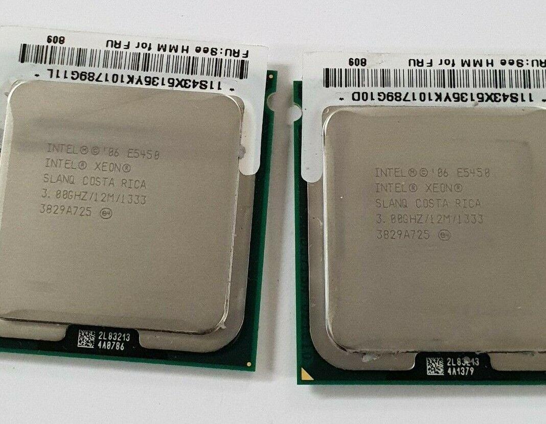10 x Intel Xeon E5450 3.0GHz LGA771 Quad-Core SLANQ CPU Processor Socket 771