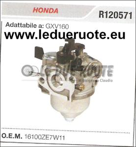 16100ZE7W11 Cocheburador a Tanque Honda GXV160