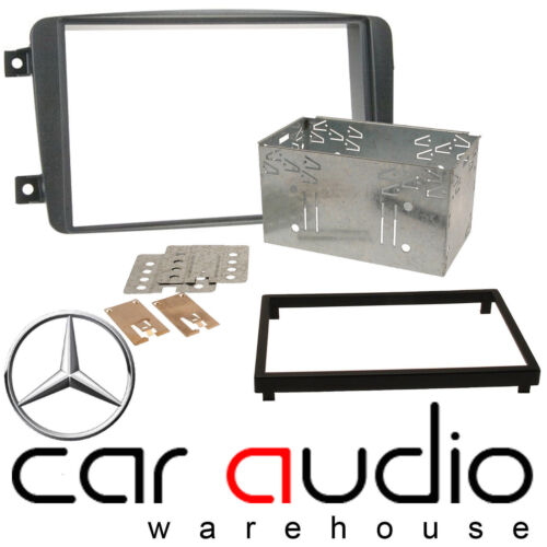 Mercedes Benz C Class W203 2000-2004 Car Stereo Double Din Fascia Panel Cage Kit