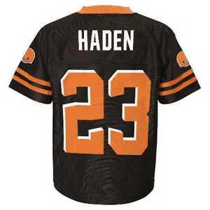 Cleveland Browns JOE HADEN nfl Jersey YOUTH KIDS BOYS CHILDRENS (L ... e5adc8b05
