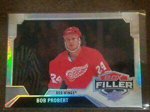 2020-21 UD Series 2 Box Filler #BF-1 Bob Probert - Detroit Red Wings