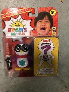 Includes 2 Random Characters NIP Ryan/'s World 2 Pack Figurine Surprise Pack