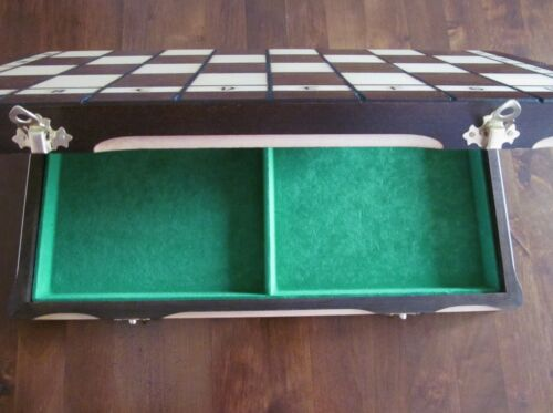 Brand New Hand Crafted  Wooden Chess  Board1 42.5cm x 42.5cm