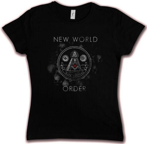 NWO HC HATE COUTURE GIRLIE T SHIRT New World Order Illuminati Mason Freimaurer