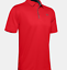 thumbnail 5 - New Mens Under Armour Muscle Golf Polo Shirt Top Performance Athletic Black Navy