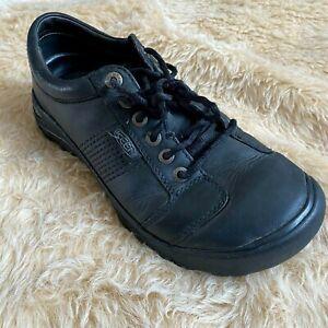 KEEN Chaussures Hommes Taille 10 Noir PRESIDIO Lacet Décontracté 1017948 Confort