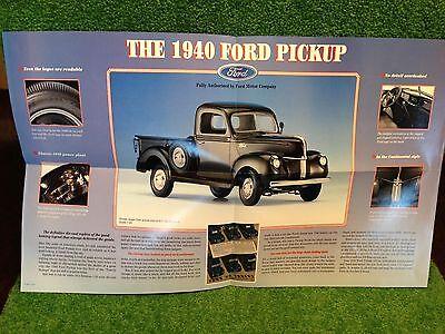 1940 Ford Ferguson Tractor Farming Foldout Sales Brochure 40