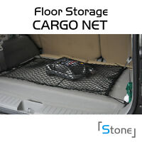 Car Trunk Floor Black Cargo Net Storage Elastic Mesh W/hooks For Volkswagen Vw