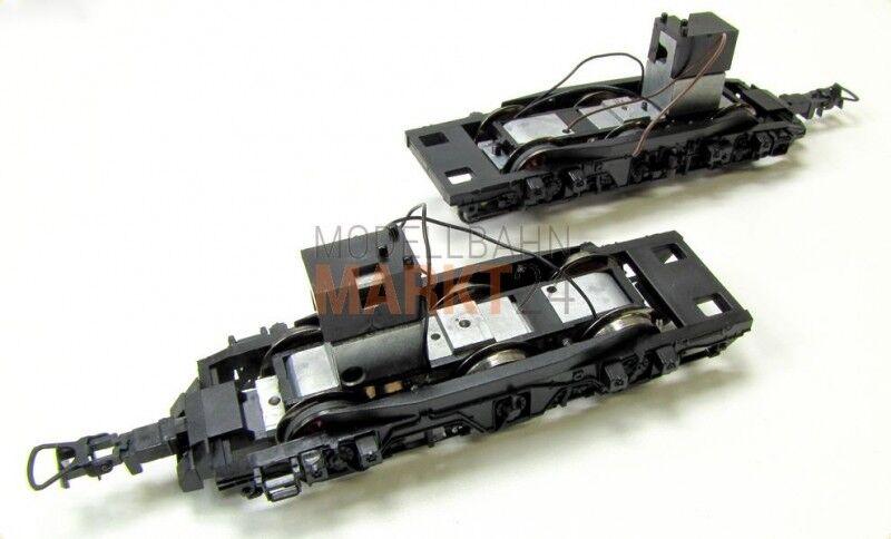 RICAMBIO-CARRELLO AC + ingranaggi ad esempio per Roco DB Elektrolok BR 150 traccia h0 NUOVO
