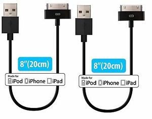 ed83a9aeea7 Apple MFi Certified  HomeSpot 8 inch (20 centi) 30 Pin comp USB ...