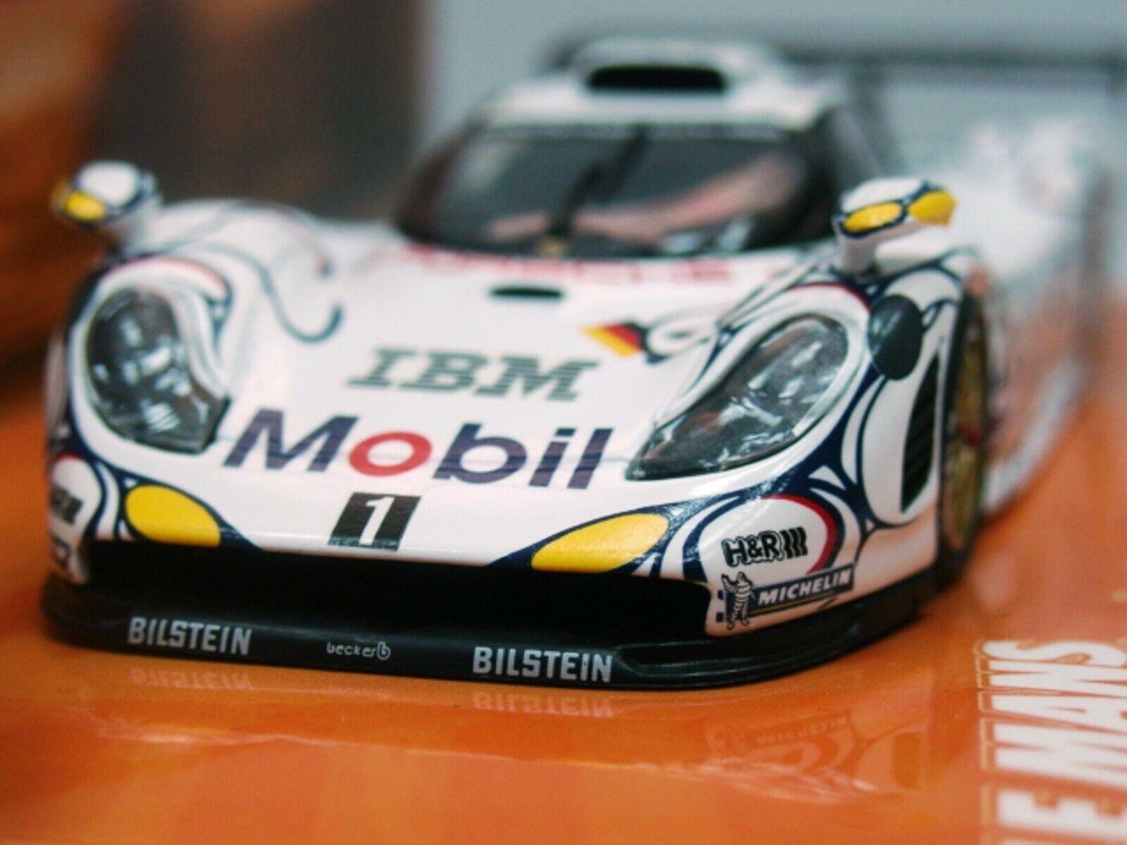WOW estremamente RARA PORSCHE 993 911 GT1 EVO  25 LE MANS 1998 Minichamps 1 43 - GT2