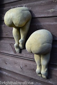 Image Is Loading Pair Cheeky Big Bottoms Bums Wall Plaques Decorative