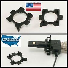 2X LED bulb spacers Mazda RX-8 MX-5 CX-7 Headlight Lamp Socket Miata G14H-51-0X7
