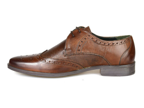 Uk in Silver p pelle Rrp P £ Street 60 West Scarpe gratis marrone brogue London 6nx16Sarq