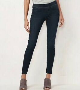 LC-Lauren-Conrad-Pull-On-Skinny-Ankle-Jegging-Jean-Denim-Pants-Womens-Size-4-50