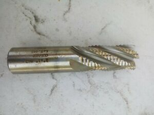 "3-3//4/"" OVAL 5//8/""  ROUGHING END MILL 5//8/"" SHANK 4 FLUTE COBALT 1-5//8/"" LOC"