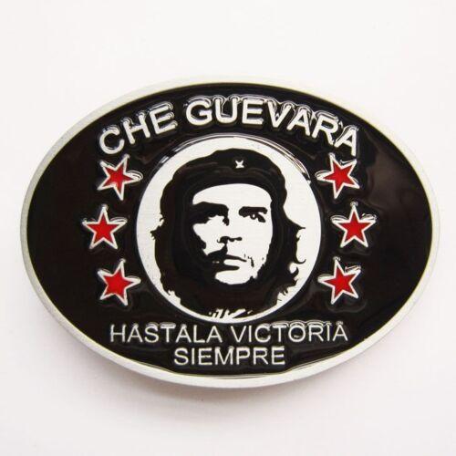 Che Guevara Hastala Victoria Siempre Belt Buckle