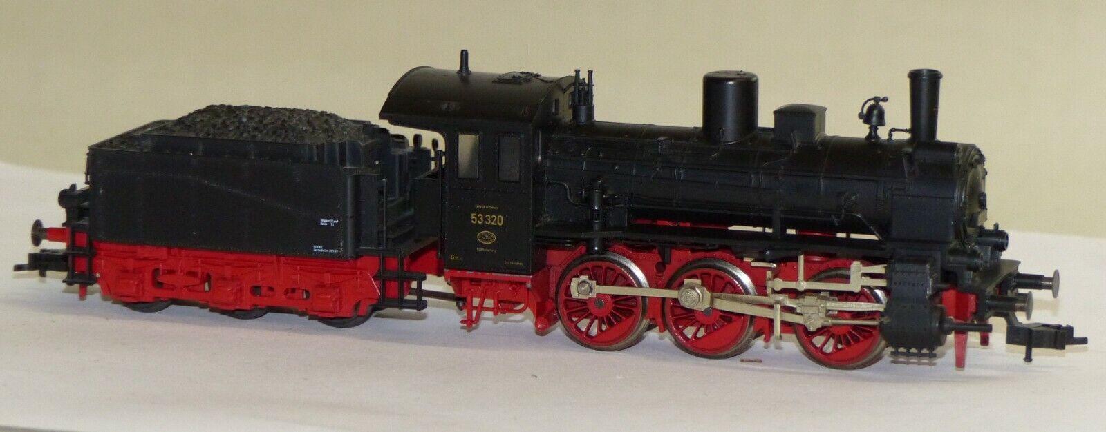Fleischmann Steam Locomotive BR 53 320 DRG Locomotive Steam Locomotive Towing Tank Locomotive