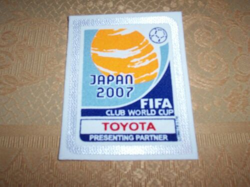 Patch Japan World Cup 2007 Mondiale per Club per maglie AC Milan Toppa