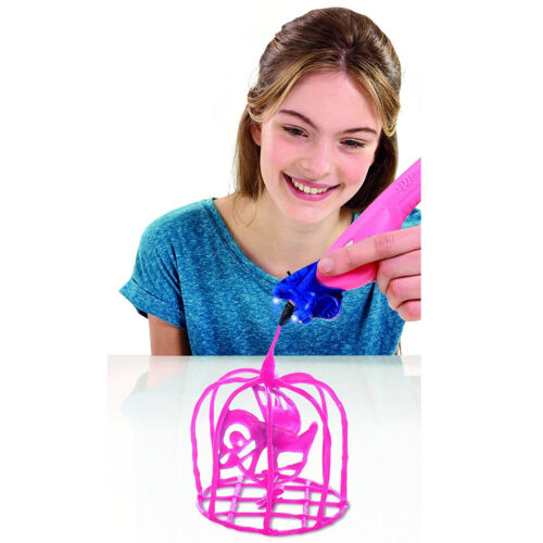 IDO3D Vertical Drawing Art Set Pink 1 Pen & 3D Light Toys Kids Drawn Creative