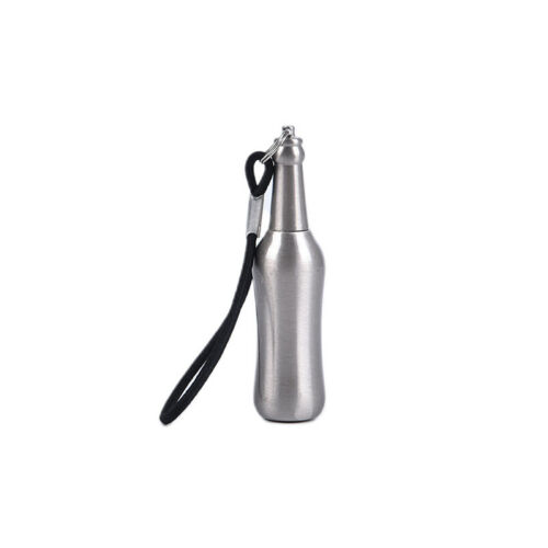 Fire Starter Lighter Waterproof Match Flint Metal Keychain Camping Survival T FJ