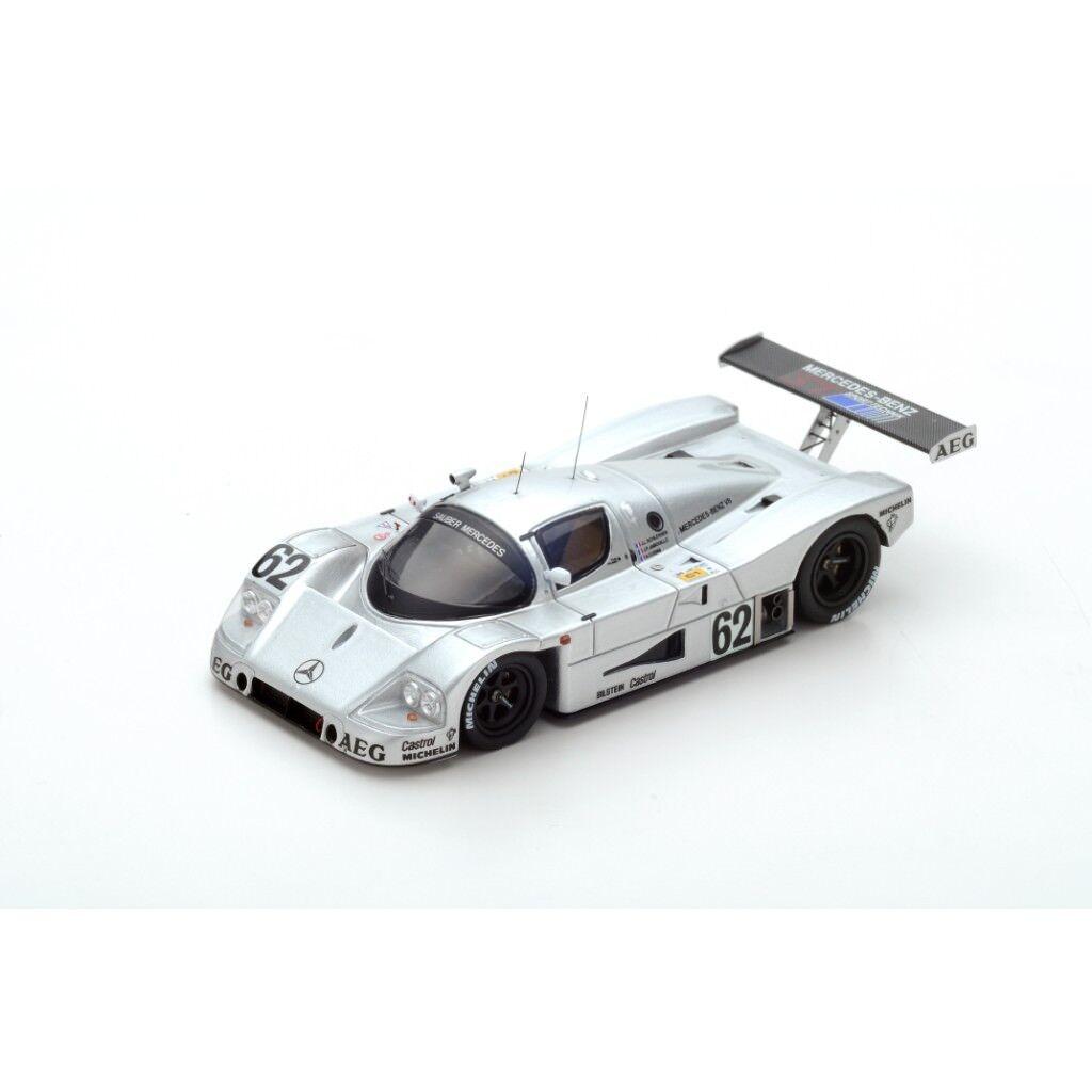 ventas en linea SPARK SAUBER-MERCEDES C9 Le Mans 1989 Schlesser - Jabouille - - - Cudini S4763 1 43  bienvenido a orden
