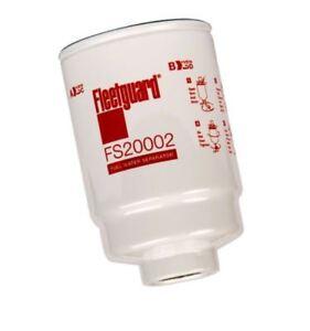 fleetguard fs20002 diesel fuel filter duramax 6 6l 2001 2011 element Glass Bowl Fuel Filter image is loading fleetguard fs20002 diesel fuel filter duramax 6 6l