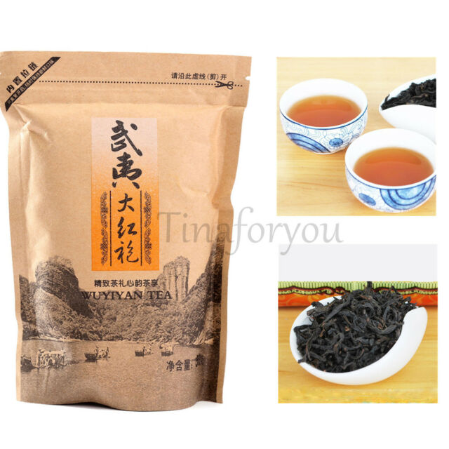 1 Bag ( 50g ) Premium Chinese Organic Da Hong Pao Big Red Robe Oolong Wuyi Tea