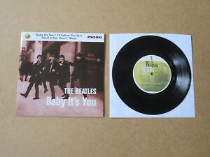 THE-BEATLES-Baby-It-039-s-You-EMI-APPLE-7-034-MONO-E-P-ORIGINAL-1995-UK-PRESSING-R6406