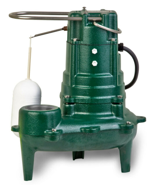 Zoeller M267 Waste Mate Sewage Pump 1 2 Horsepower 115v Ebay