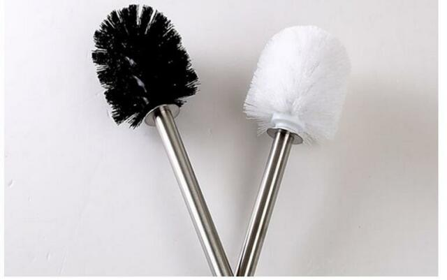 Toilet Brush Head : Replacement stainless steel wc bathroom cleaning toilet brush head