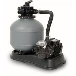 Pompa filtro a sabbia shott da 8 mc h per piscina motore da 0 60 hp ebay - Motore per piscina ...