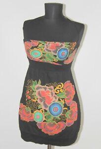 Desigual-22V2083-mujeres-Floral-Vestido-Tunica-Talla-Xs-Algodon-55