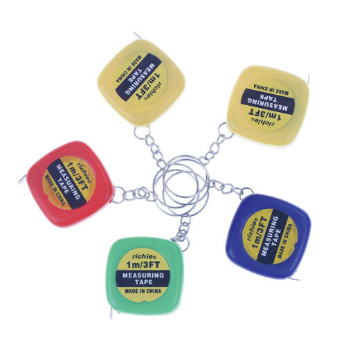 2Pcs Easy Retractable Ruler Tape Measure Small Mini Portable Pull Ruler CYA