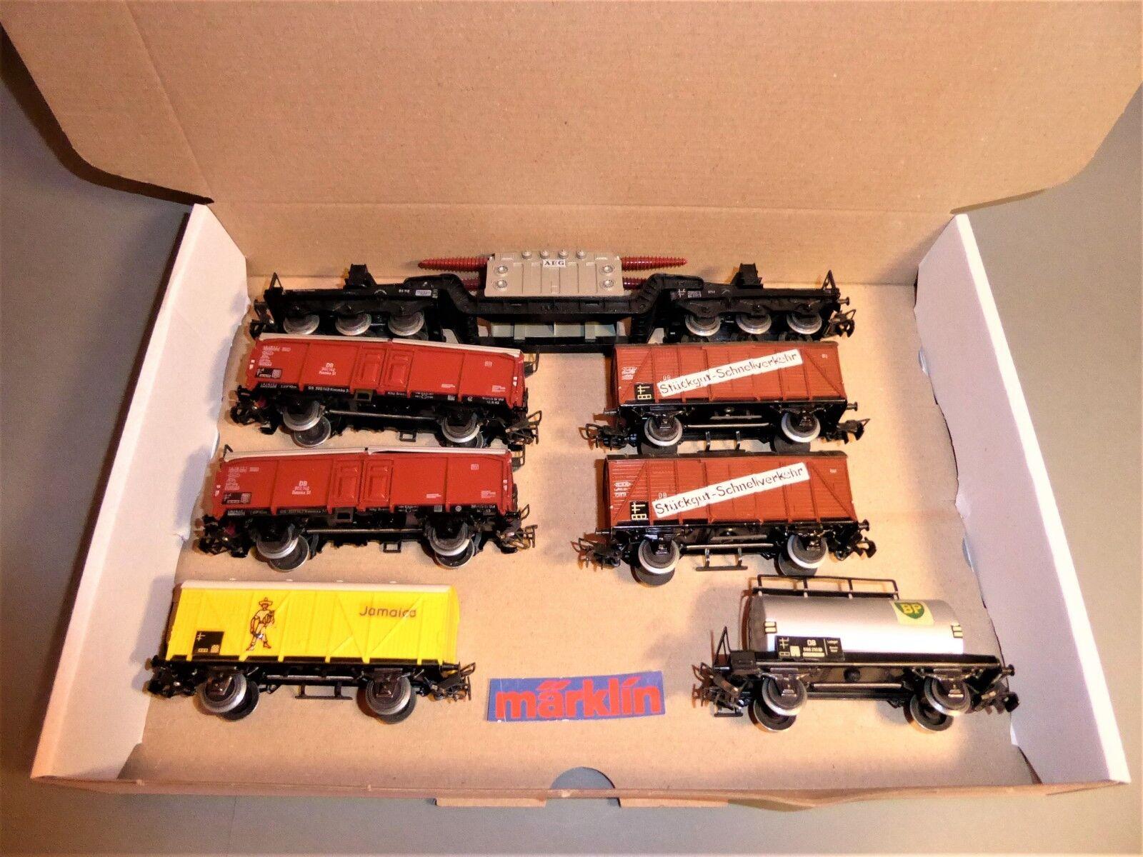 h0 senza box: 7x carri merci  7
