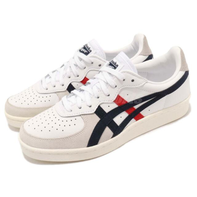 new style 9151a 04b0d Asics Onitsuka Tiger GSM White Peacoat Men Casual Shoes Sneakers D5K2-Y100