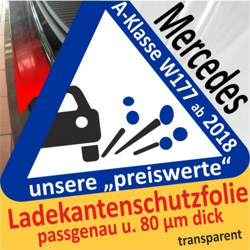 MERCEDES CLASSE A w177 dal 2018 Pellicola Protezione Vernice Paraurti Pellicola auto