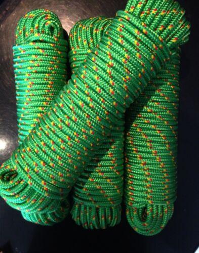 Nr.18 Grüne Bootsleine 12 mm,30m,Ankerleine,Festmacher,Allzweckseil,Segeltauwerk