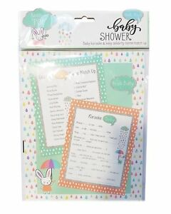 Baby-Karaoke-amp-Celebrity-Name-Match-Up-24-Sheets-Games-Baby-Shower-Party