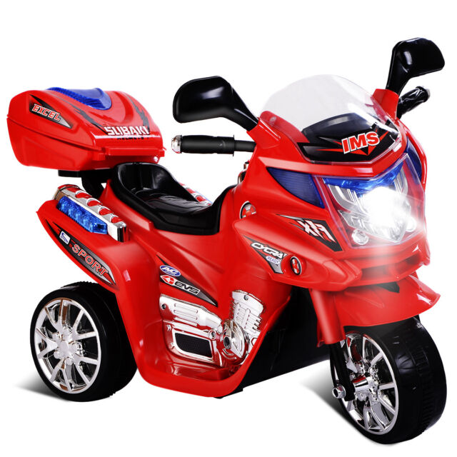 Costzon 3 Wheel Kids Ride On Motorcycle 6v Battery Powered