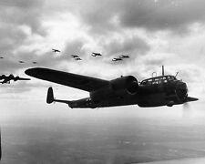"""German Dornier Do 17Z Light Bombers over France 8""""x 10"""" World War II Photo #129"""