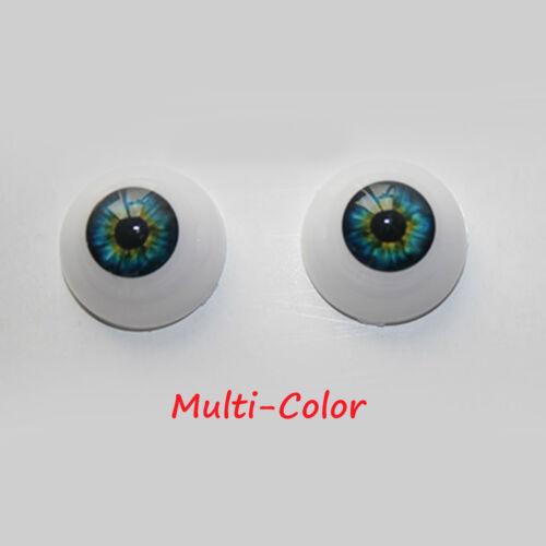 4 Pairs 20mm Acrylic Eyes for Reborn Doll Kit BJD Doll DIY Doll making supplies