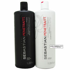 Sebastian Penetraitt Shampoo and Conditioner 1 L / 33.8 fl. oz. Duo
