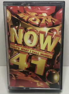 Now-That-039-s-What-I-Call-Music-41-Double-Cassette-Tapes-Original-Now-41