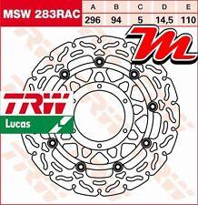 Disque de frein Avant TRW Lucas MSW 283 RAC Honda CB 600 FA Hornet ABS PC41 07-