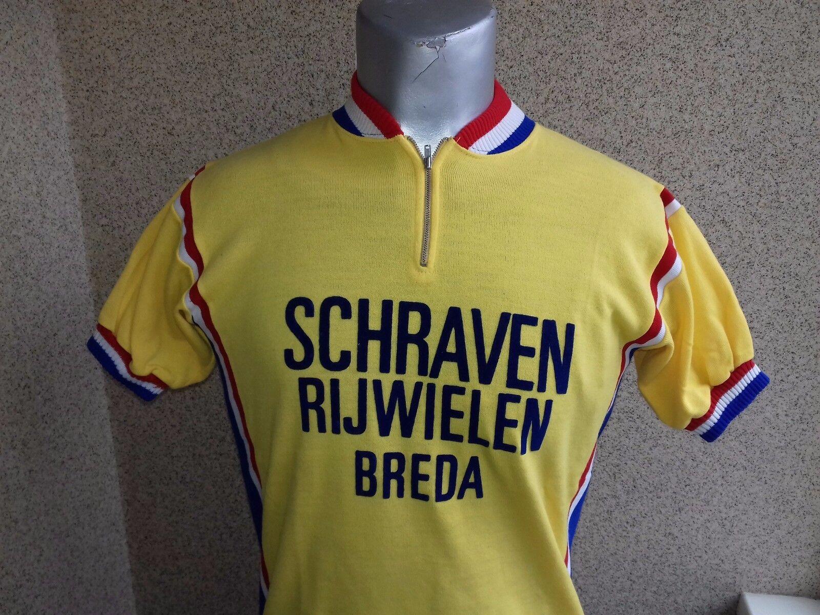 CYCLING CAMPITELLO RARE VINTAGE SHIRT BrossoA JESRSEY RARE CAMPITELLO CAMISETA 1980 a9abcf